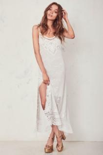 LOVESHACKFANCY Bethan Slip Dress