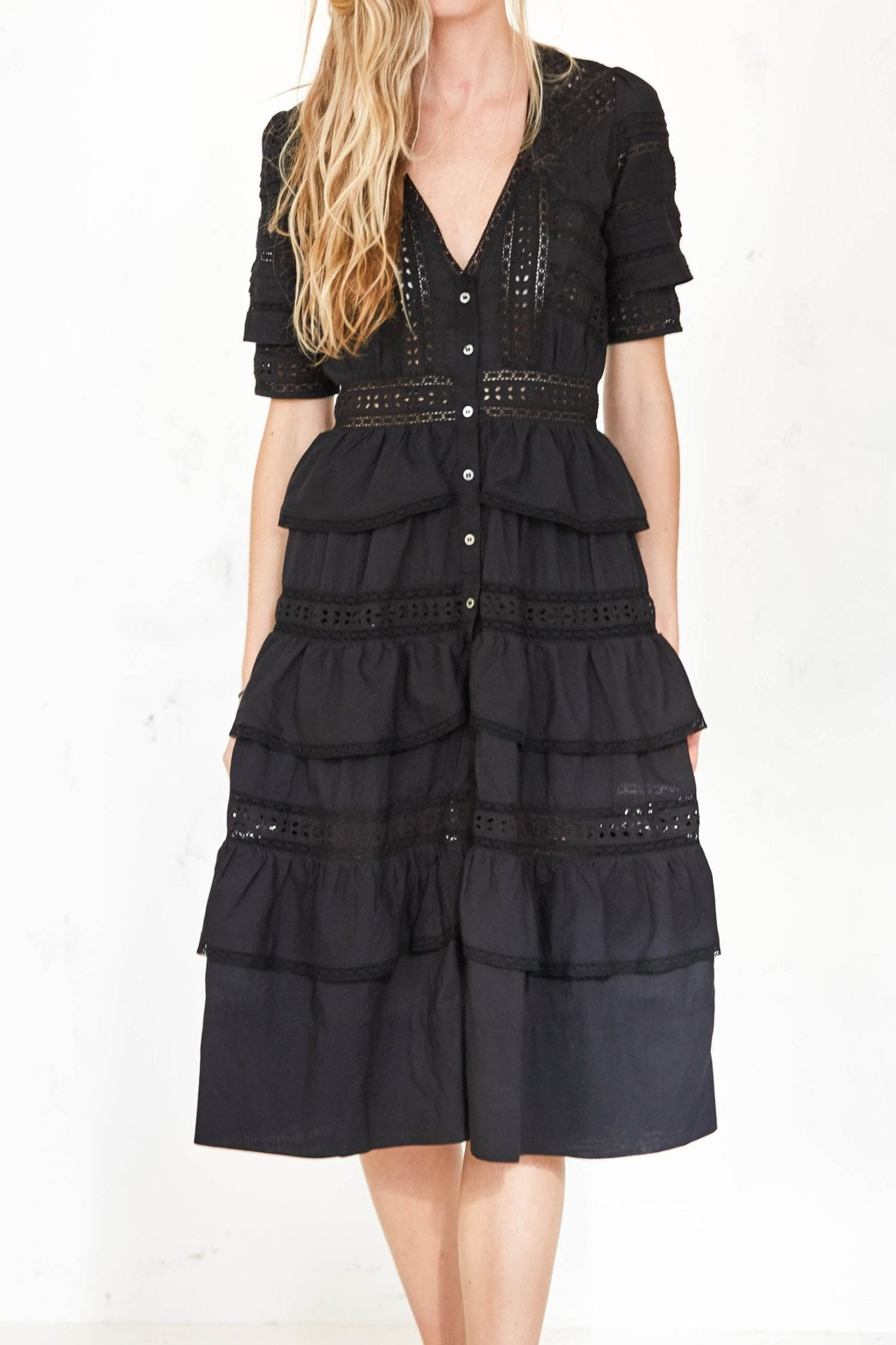 LOVESHACKFANCY Rebecca Dress