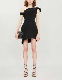 MATICEVSKI One-shoulder Crepe Dress