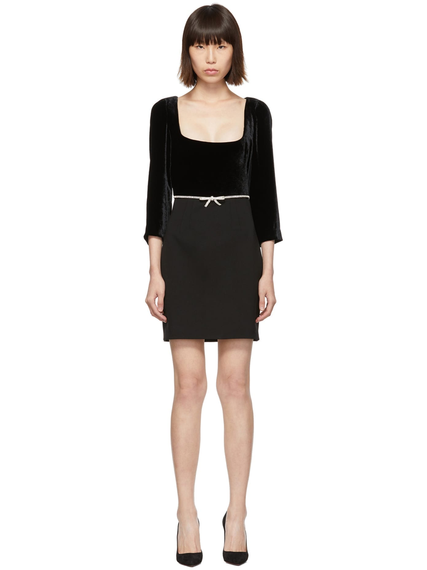 MIU MIU Black Velvet Dress