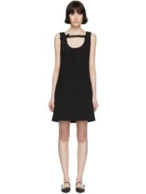 PRADA Black Bow Cocktail Dress