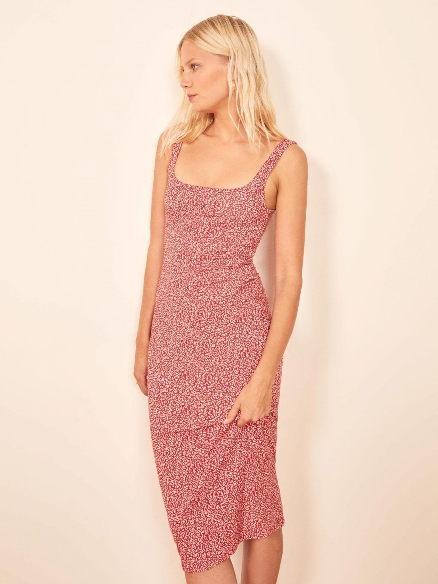 REFORMATION Aggie Dress