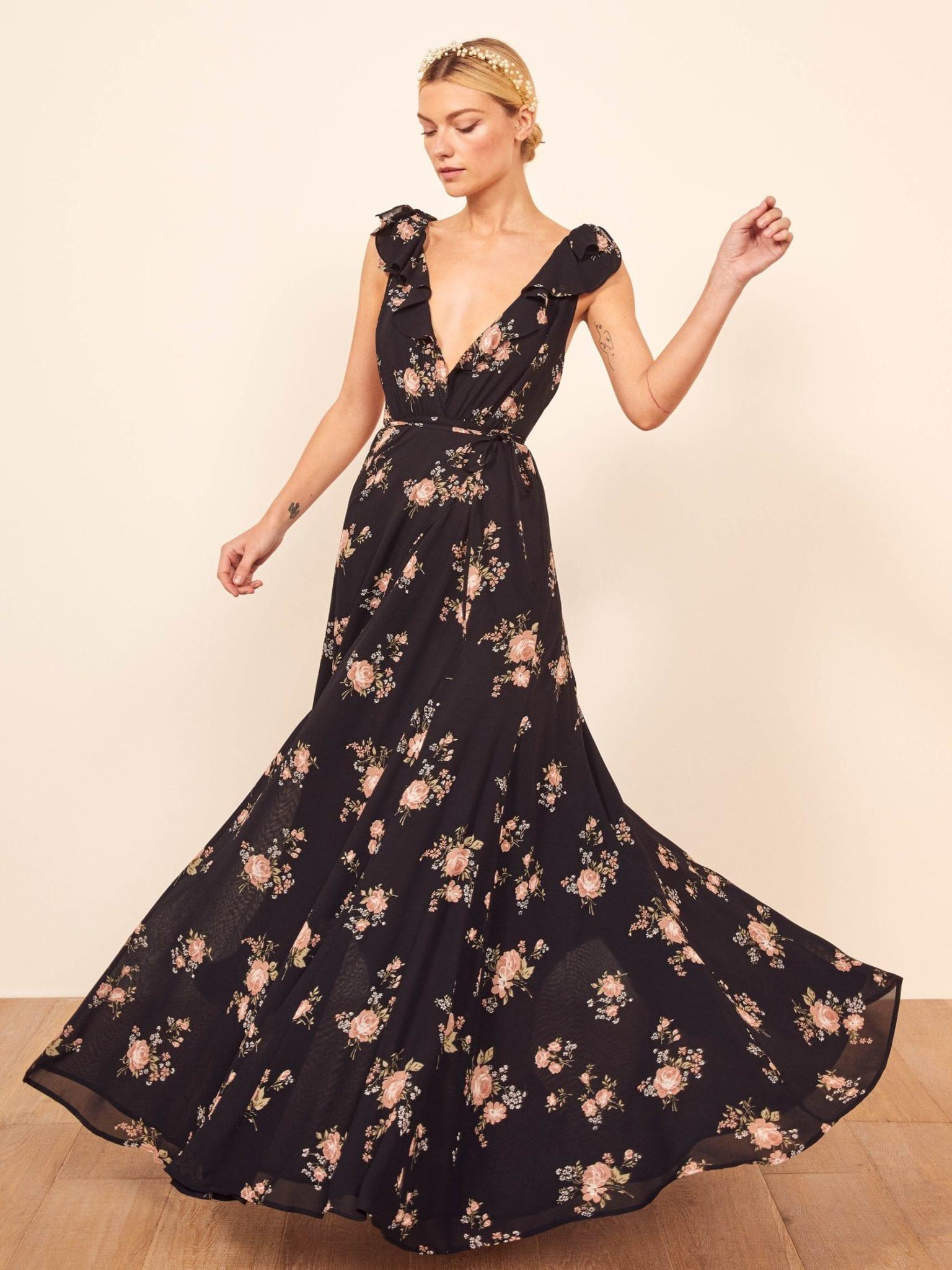 REFORMATION Peppermint Dress