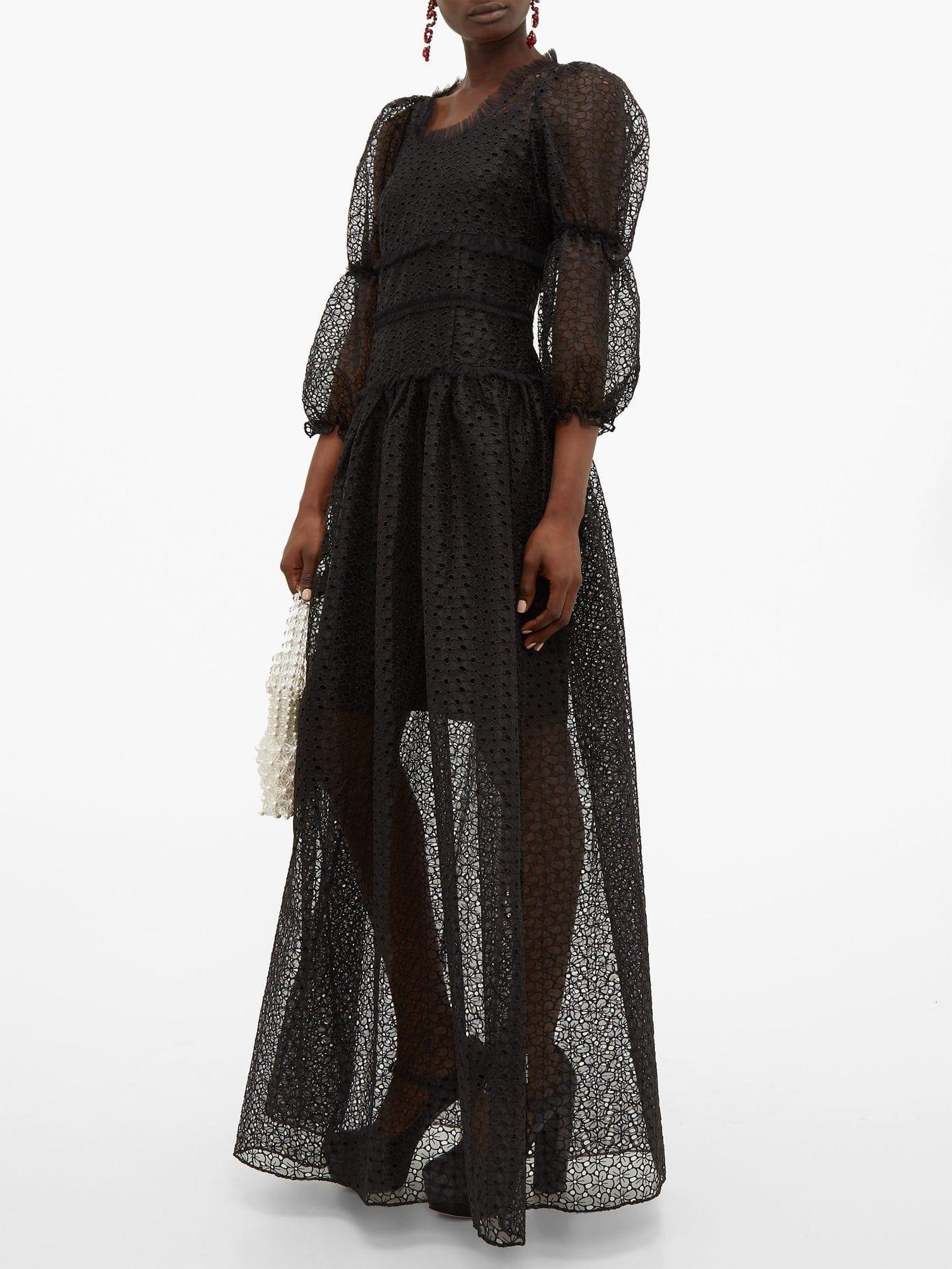 SHRIMPS Cara Broderie-anglaise Maxi Dress