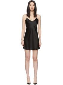 SIMONE PÉRÈLE Black Dream Short Dress