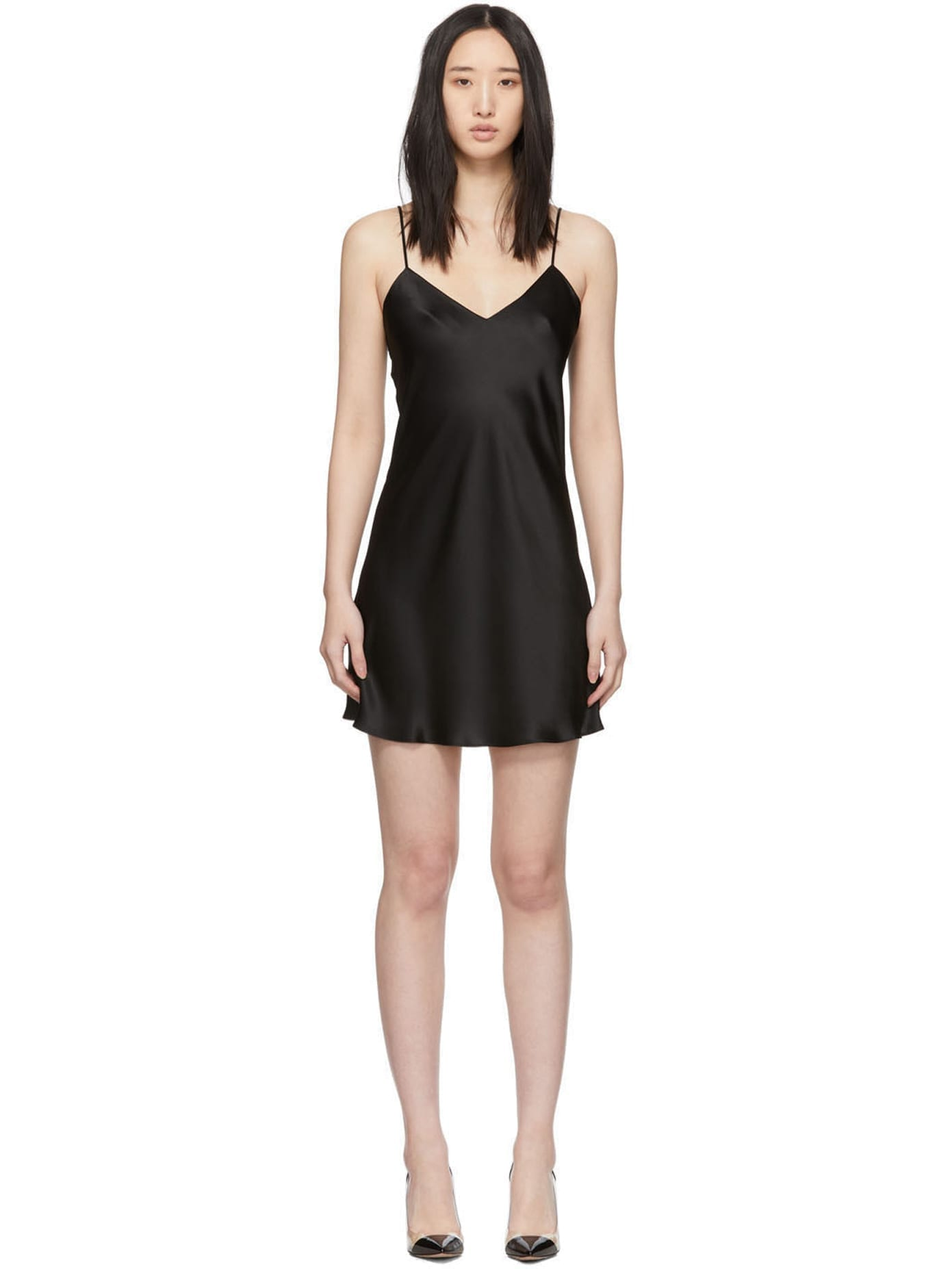 SIMONE PÉRÈLE Black Dream Short Dress