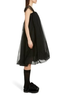 SIMONE ROCHA Tulle Babydoll Dress