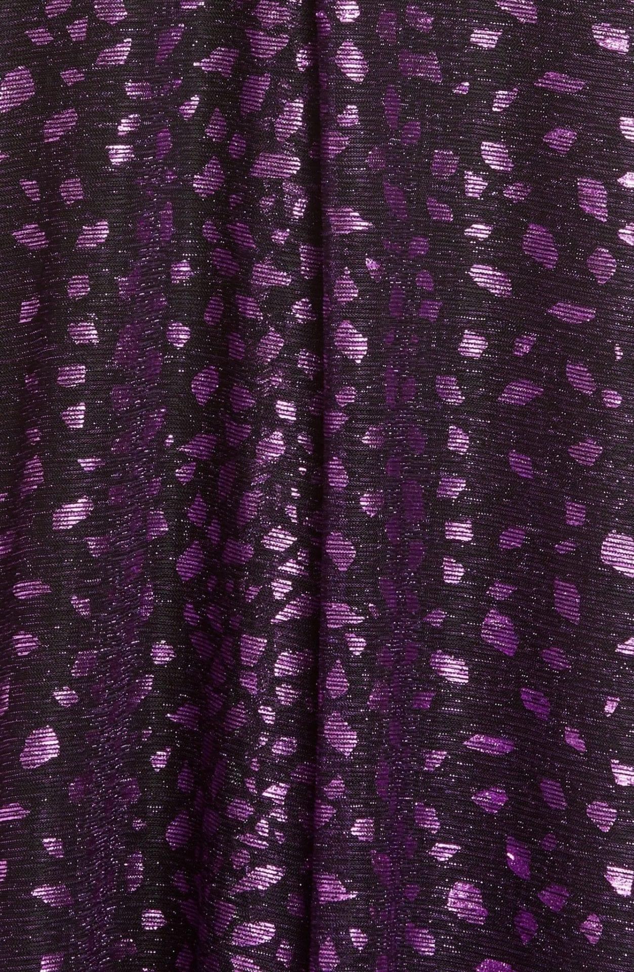 TALBOT RUNHOF Metallic Dégradé Voile Gown
