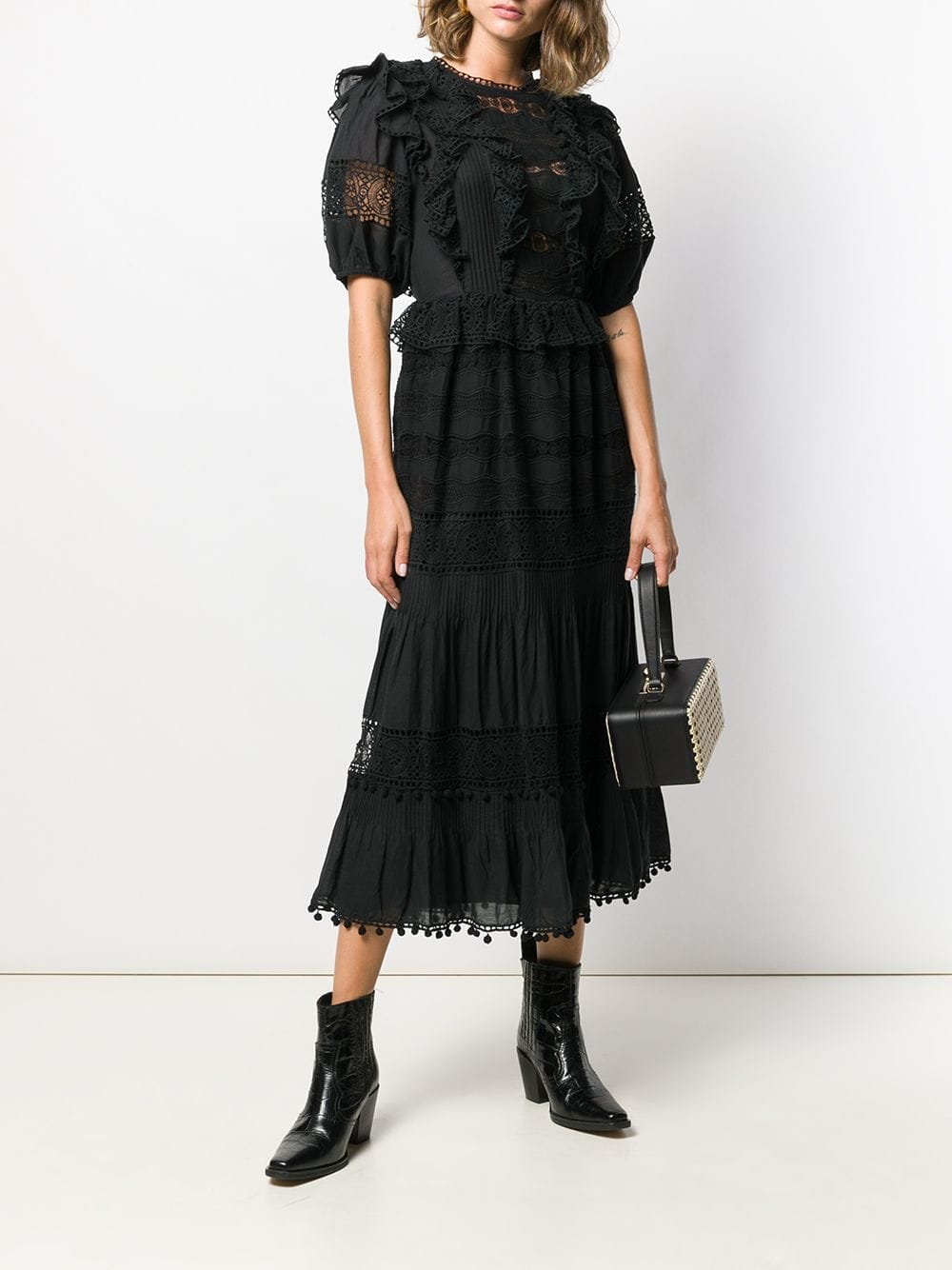 ULLA JOHNSON Guinivere Ruffled Maxi Dress
