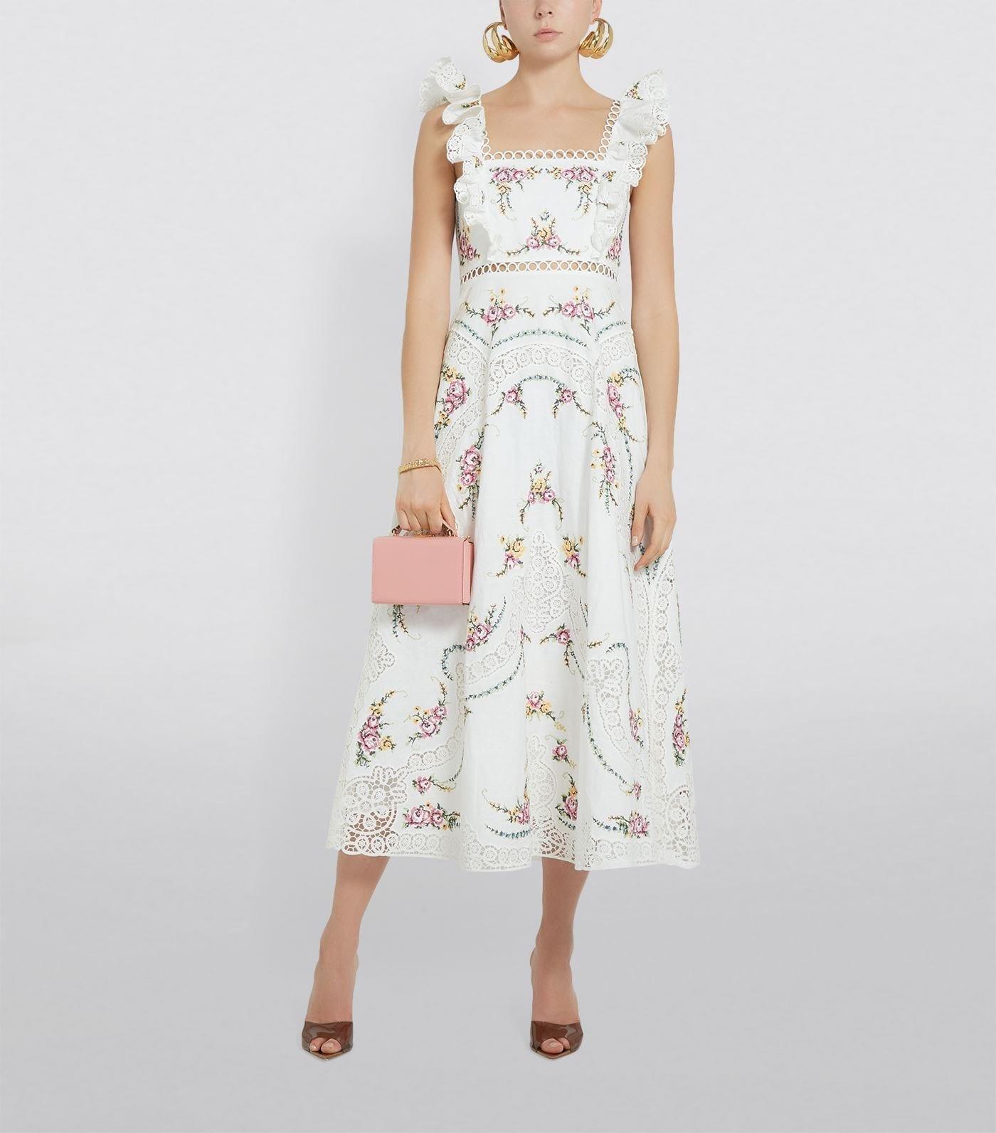 ZIMMERMANN Cross-Stitch Allia Dress