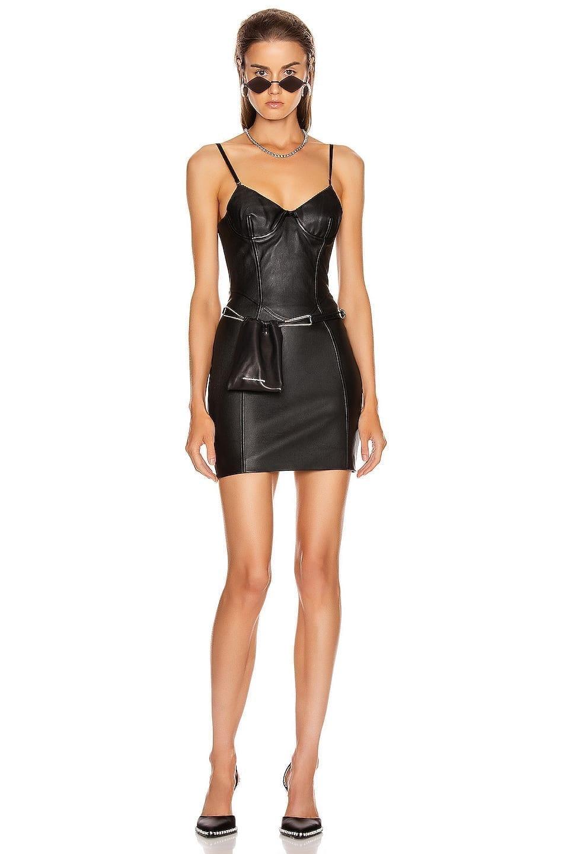 ALEXANDER WANG Stretch Leather Dress