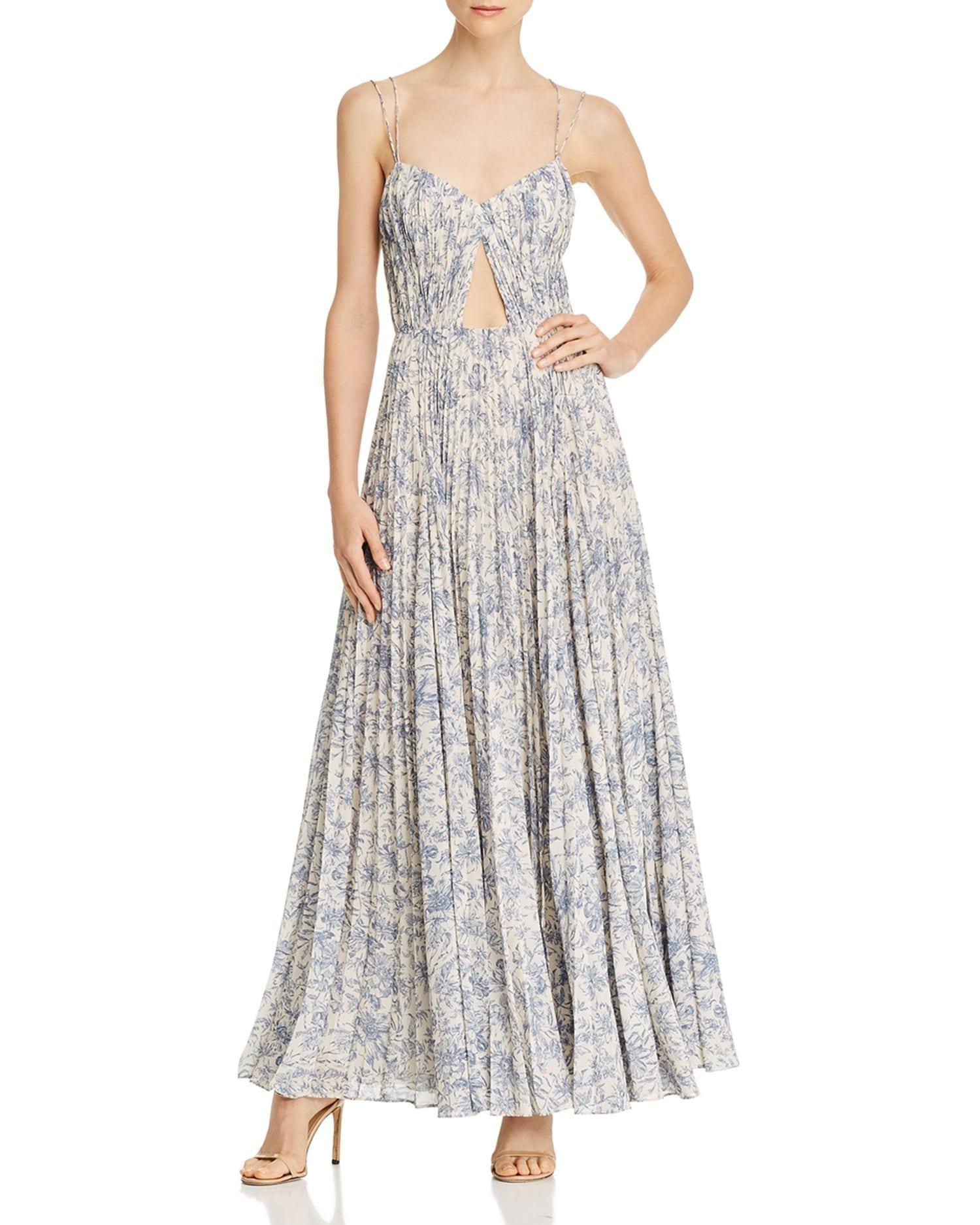 AMUR Lucy Floral Sleeveless Maxi Dress