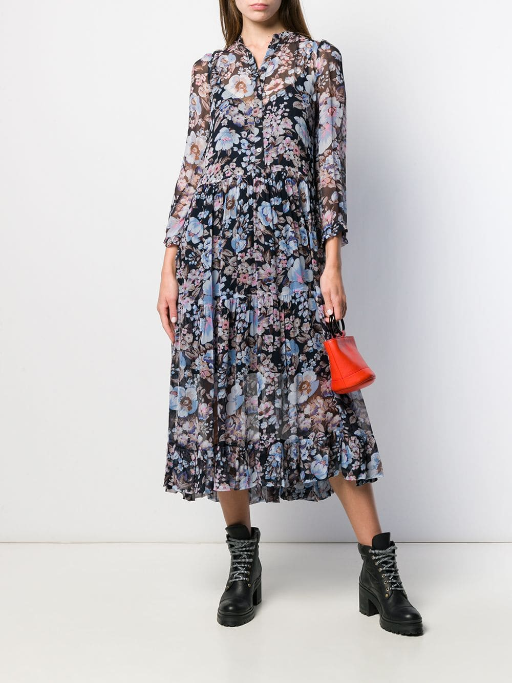 BAUM UND PFERDGARTEN Floral Print Dress