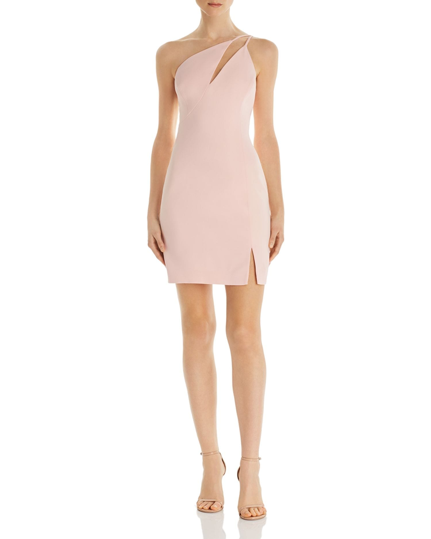 BCBGMAXAZRIA One-Shoulder Cocktail Dress