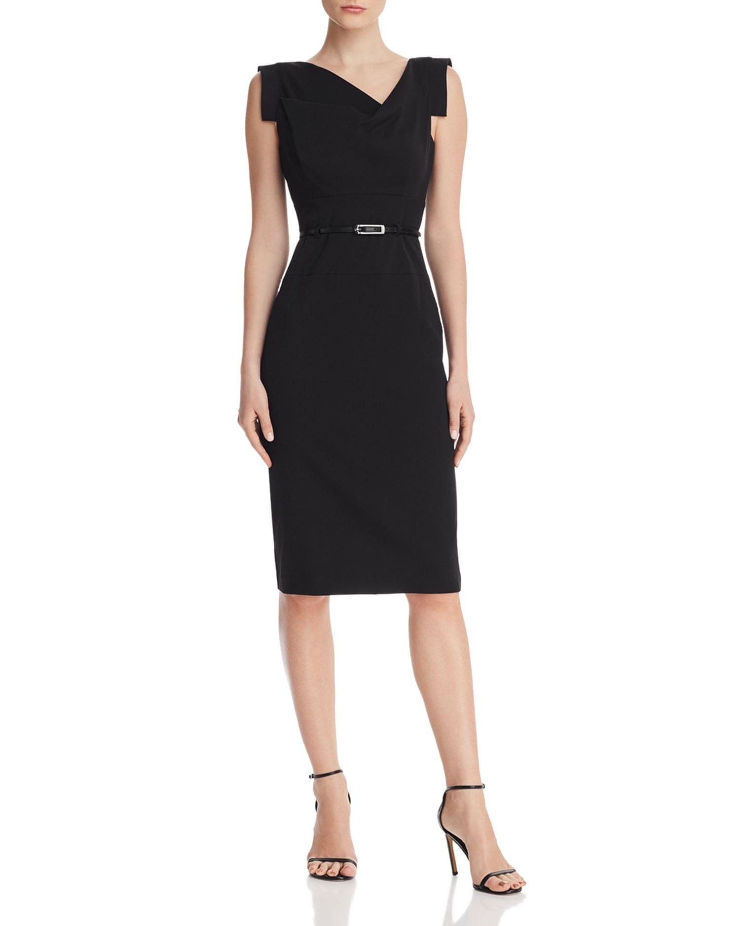 BLACK HALO Jackie Sheath Dress