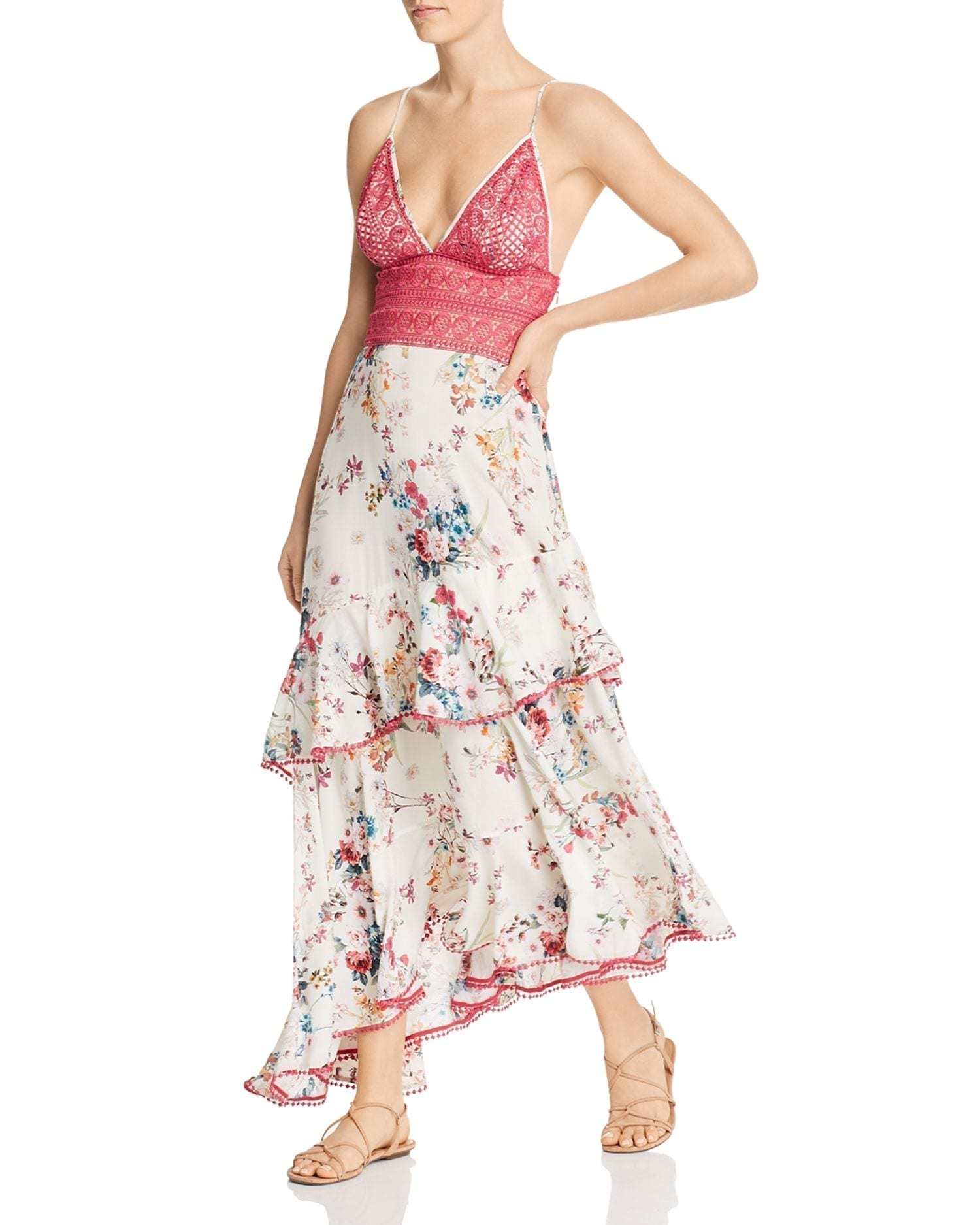CHARO RUIZ IBIZA Floral-Print Noa Maxi Dress