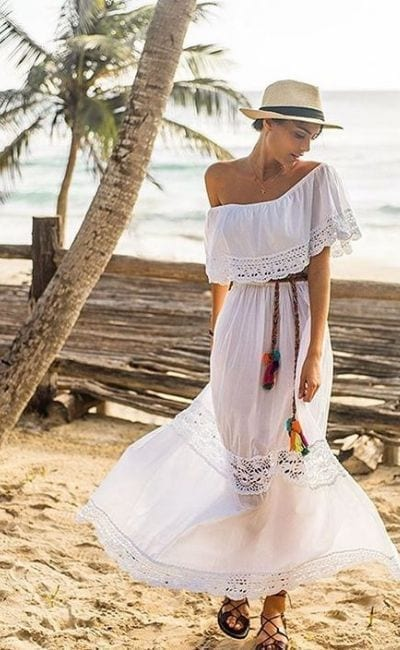 Destination... St Barts, Sensational Dresses For This Breathtaking Island