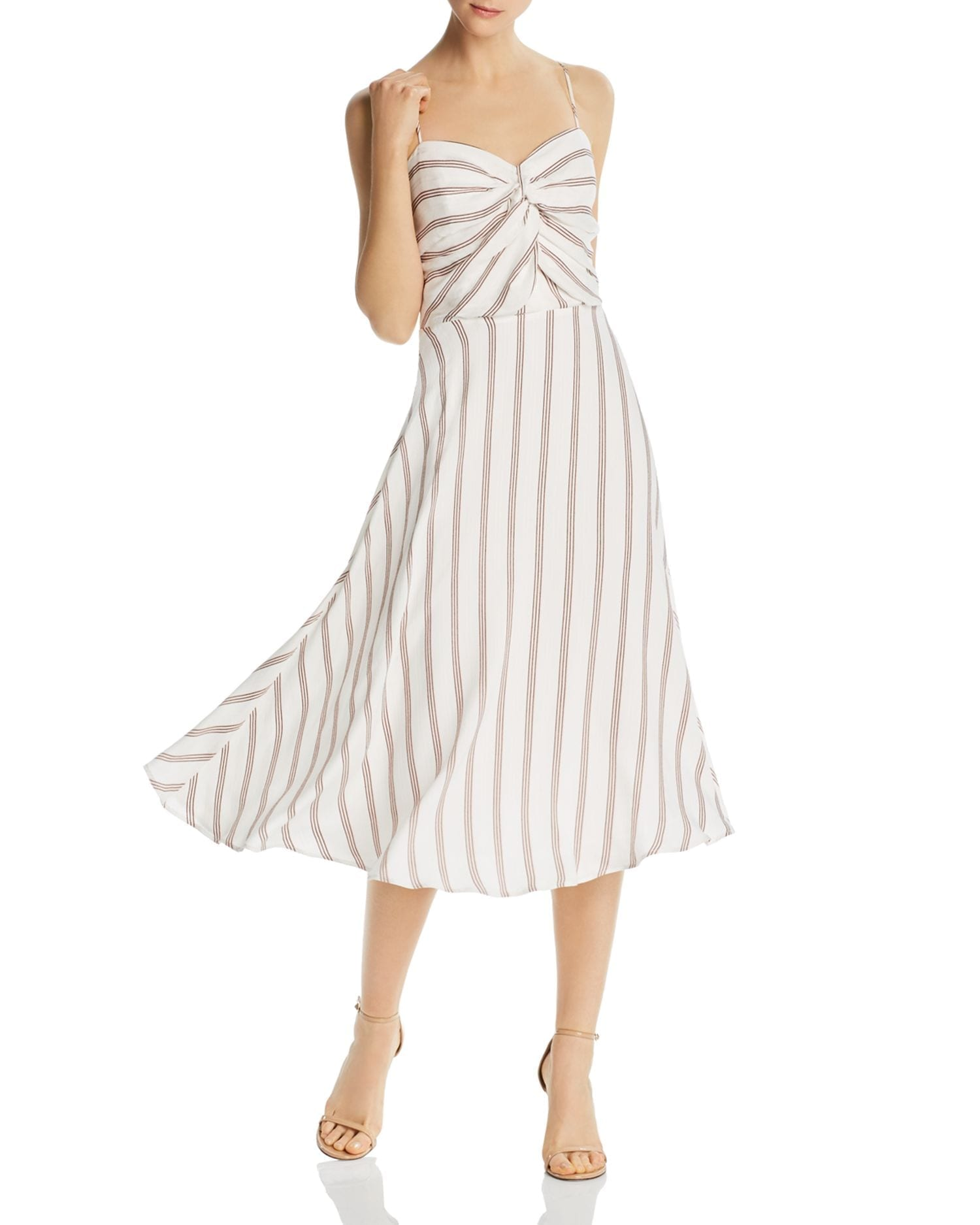 JOIE Chalten Striped Dress