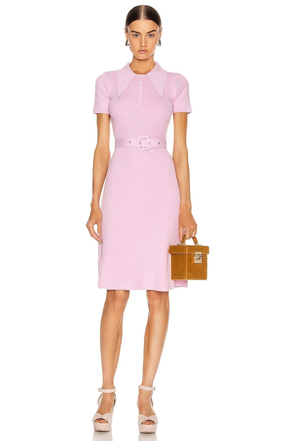 JOOSTRICOT Polo Midi Dress