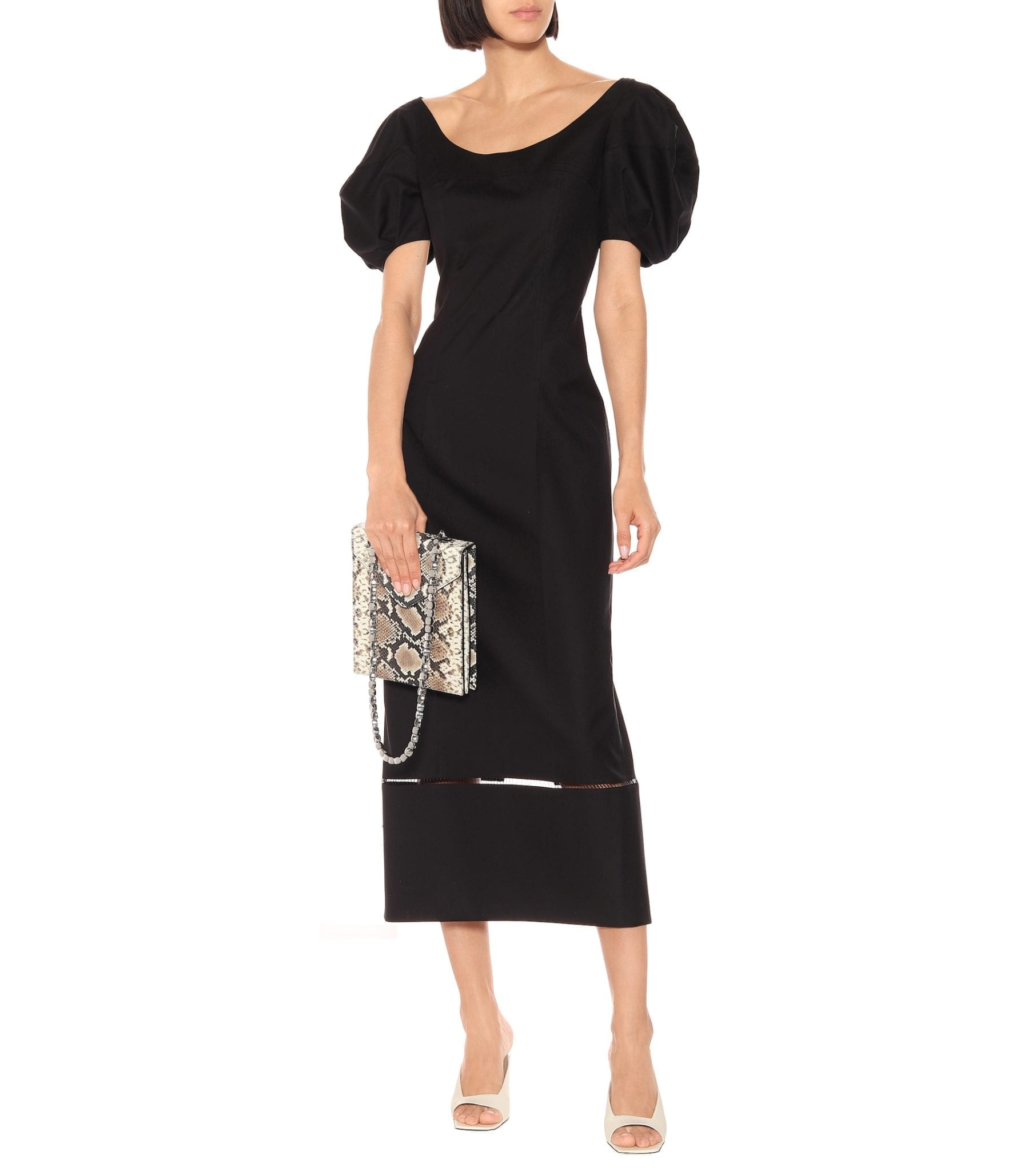 KHAITE Allison Cotton Dress