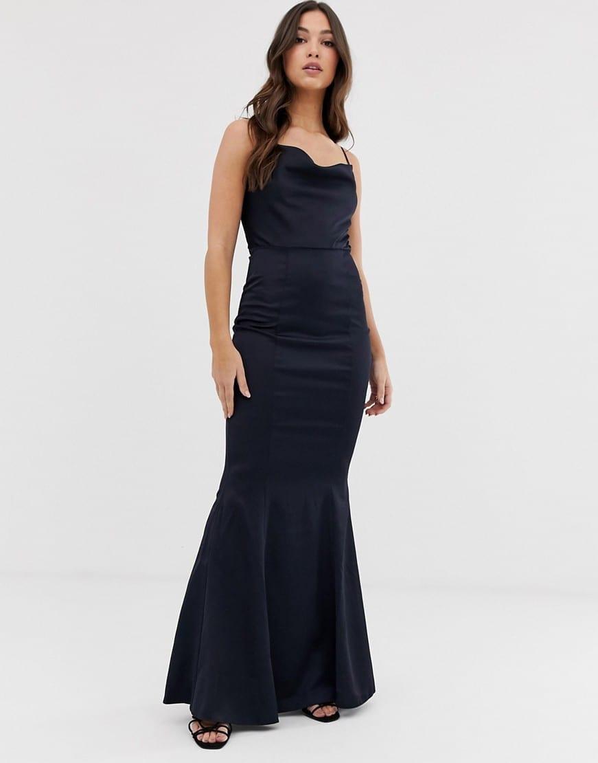 LIPSY Cowl Neck Maxi Dress