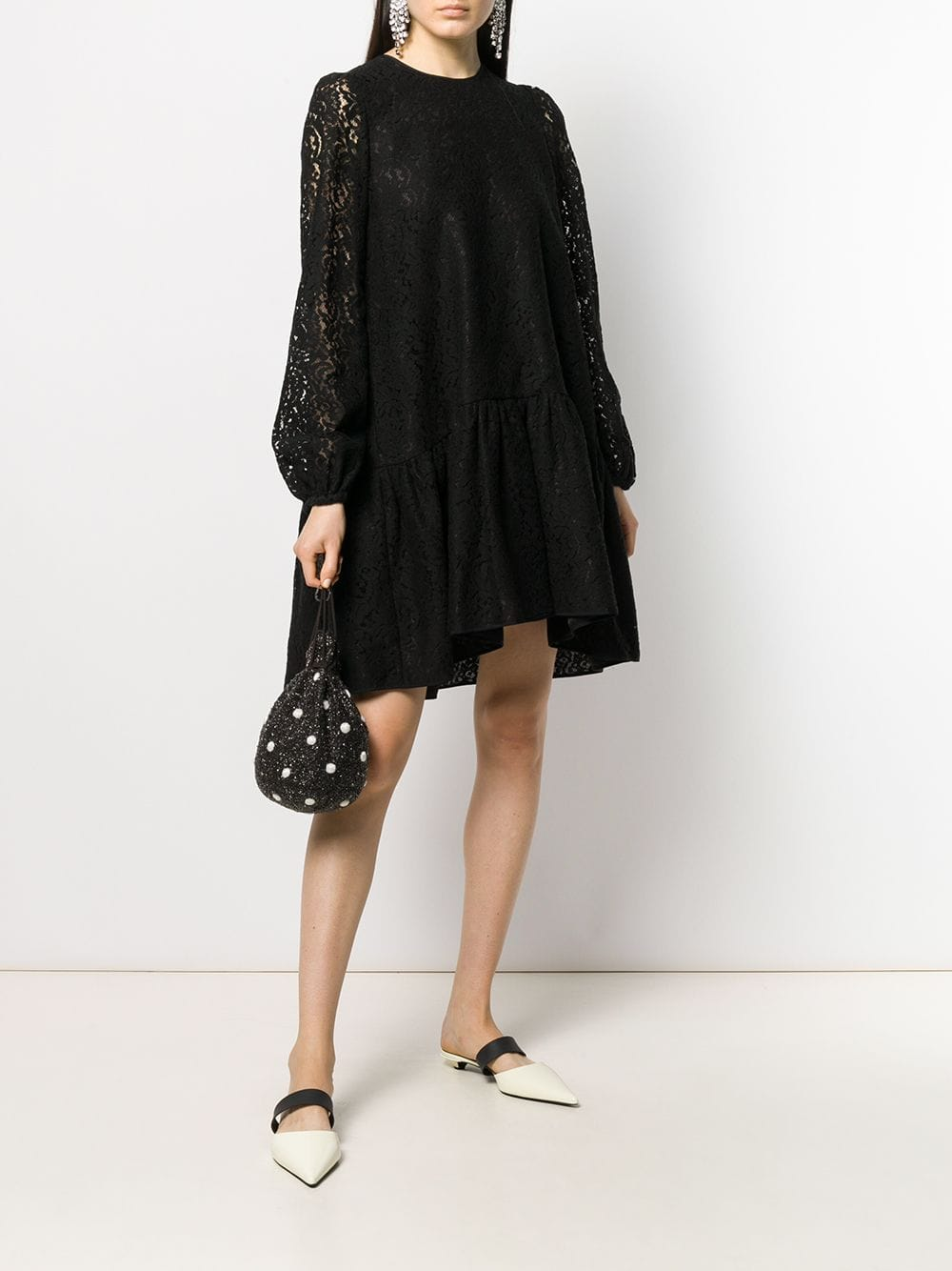 Nº21 Floral Lace Shift Dress