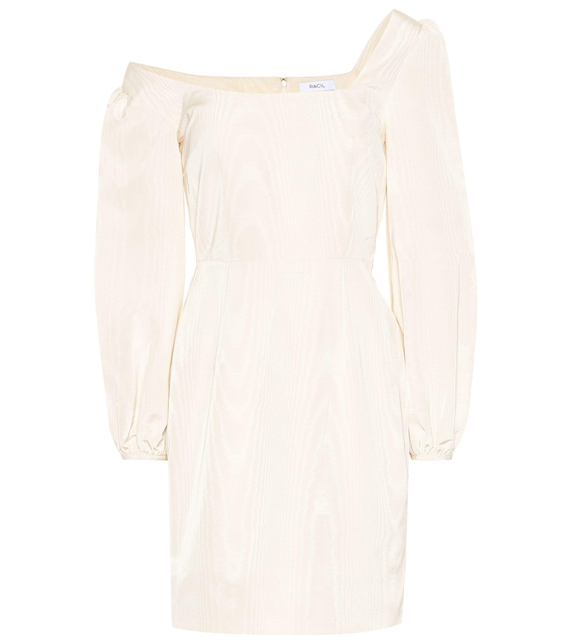 RACIL Debbie Cotton-blend Mini Dress