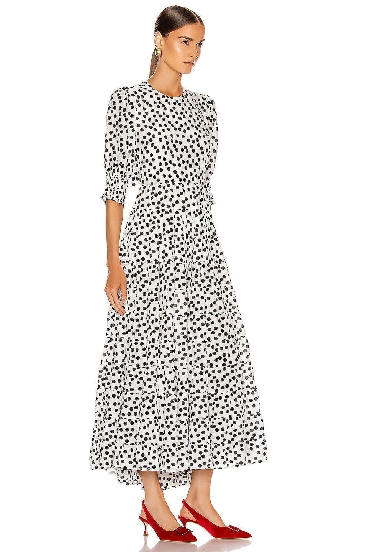 RIXO Agyness Midi Dress