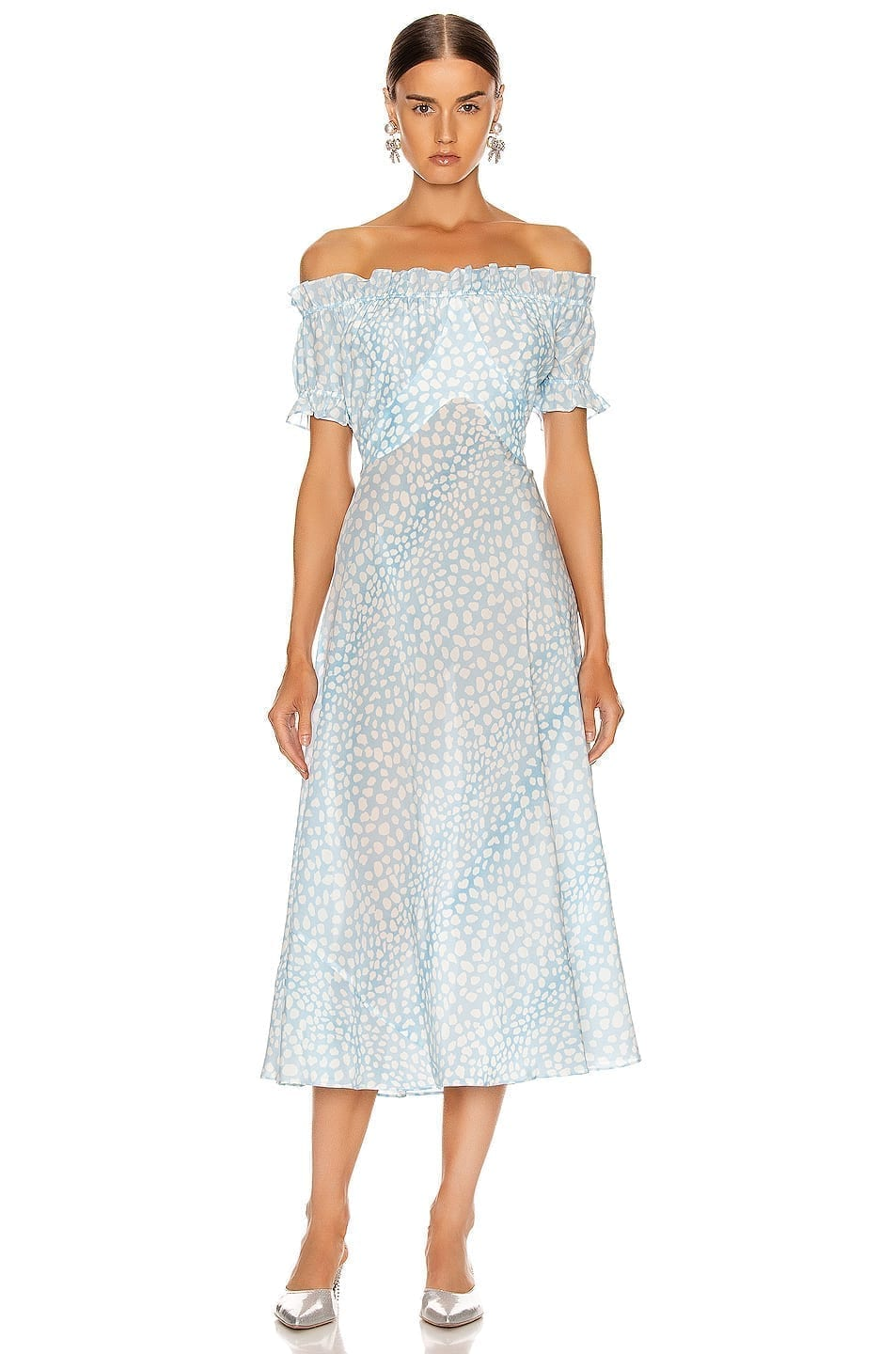 RIXO Bella Midi Dress
