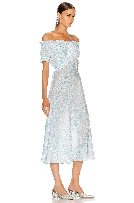 RIXO Bella Midi Dress