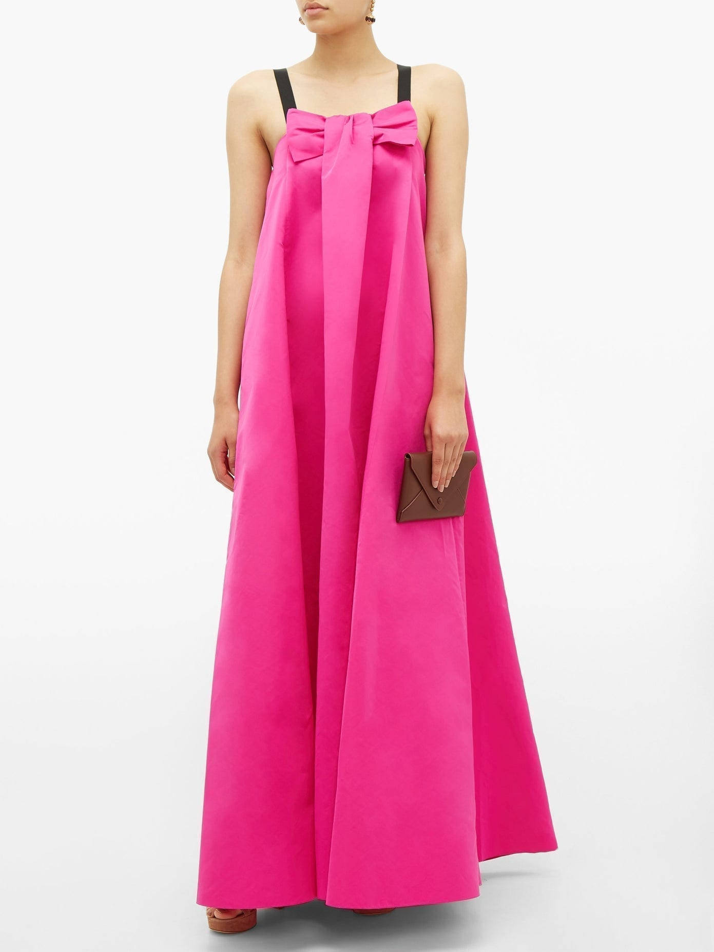 ROCHAS Piastra Radsmir Bow-front Taffeta Gown