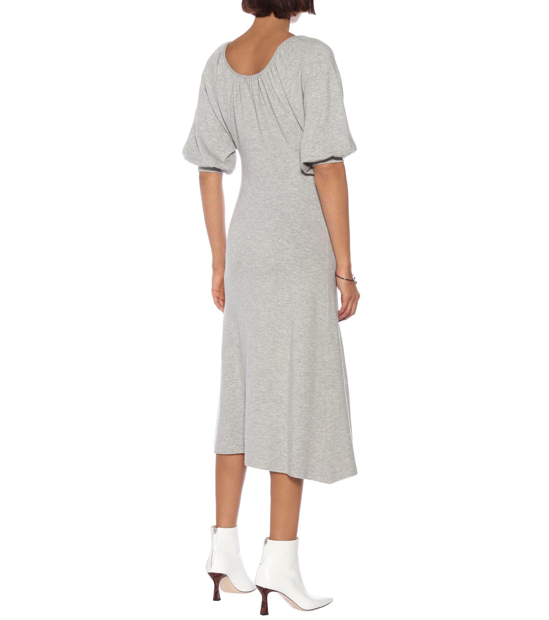 RYAN ROCHE Cashmere Midi Dress
