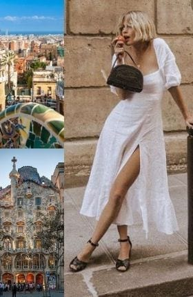 Destination…Barcelona, Chic Dresses For Summer In The City