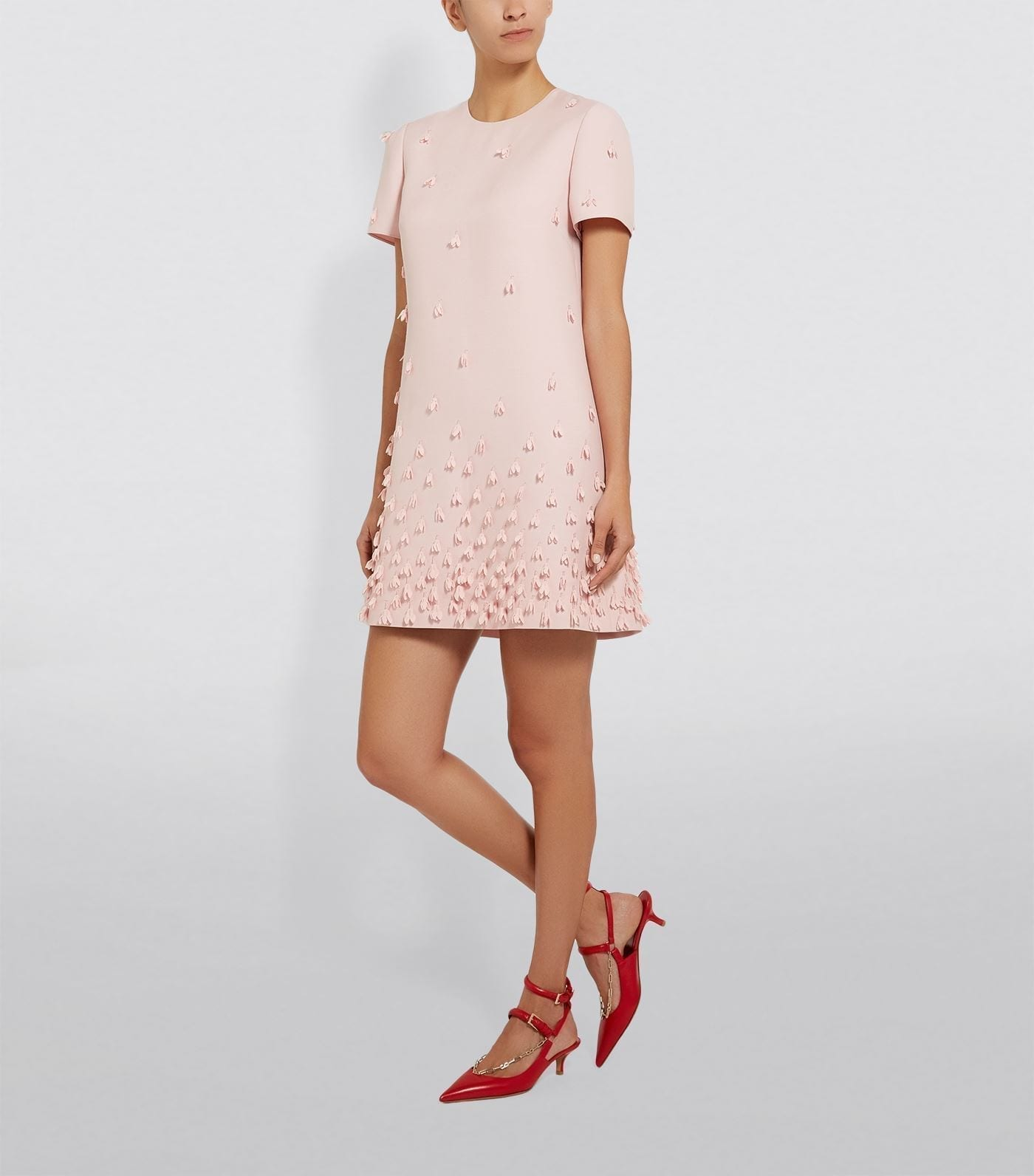 VALENTINO Snowdrop Shift Dress