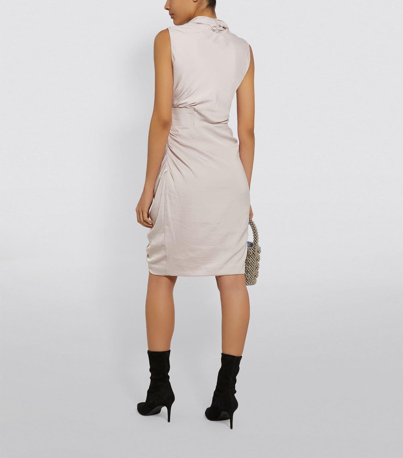 ALLSAINTS Cancity Draped Dress