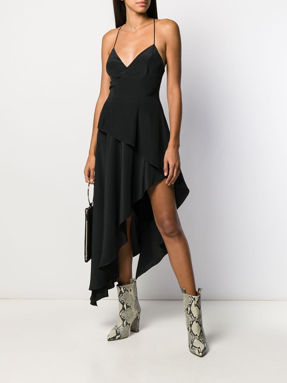 AMIRI Asymmetric Midi Dress