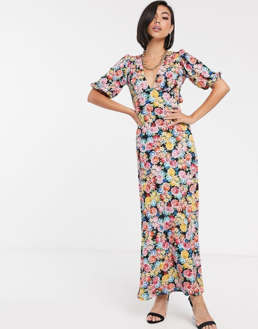 ASOS DESIGN Maxi Tea Dress