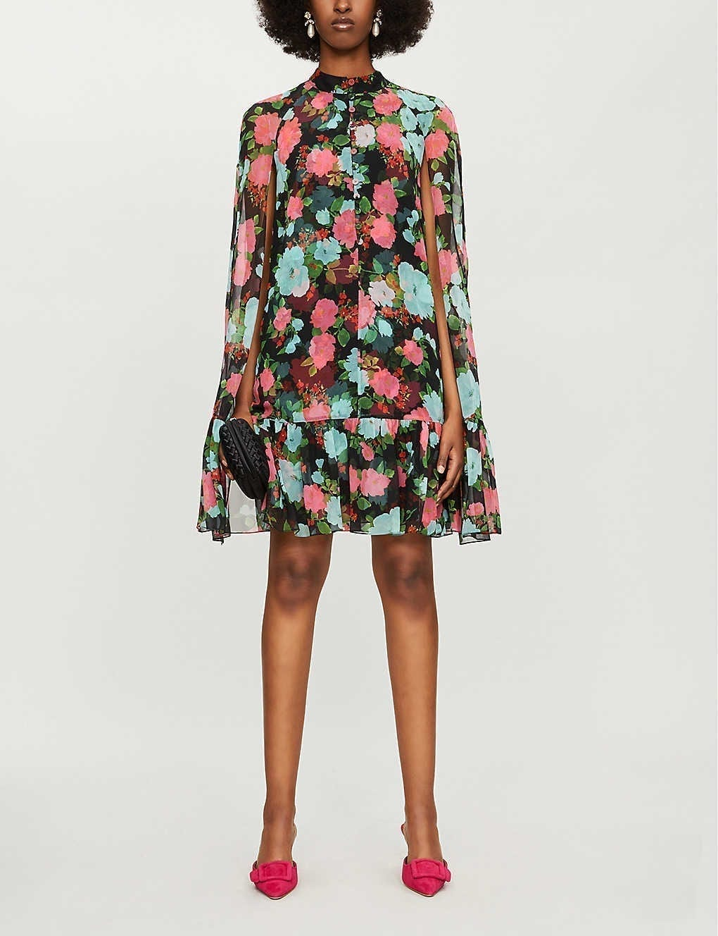 ERDEM Constantine Silk Dress