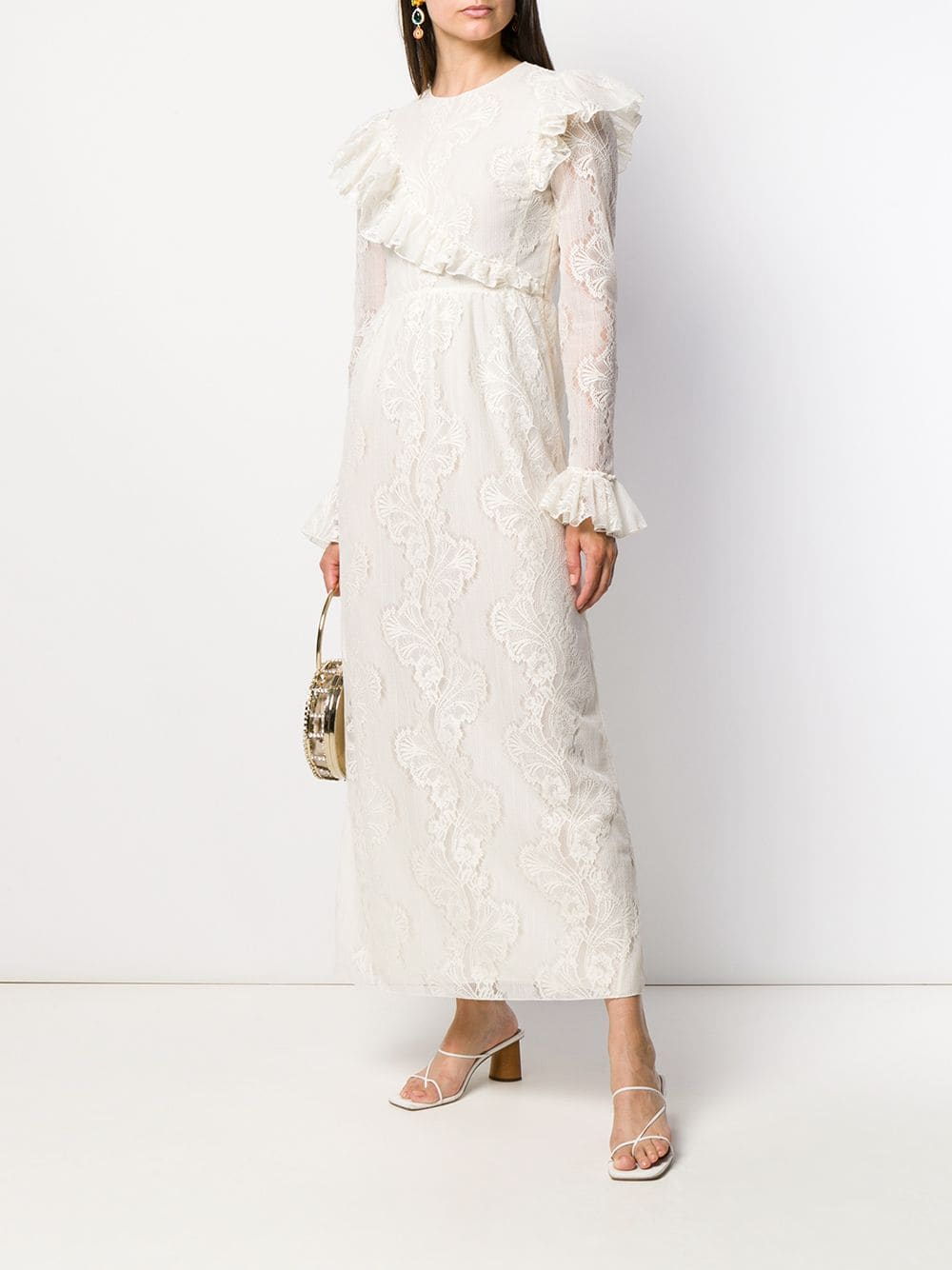 GIAMBATTISTA VALLI Long Lace Dress