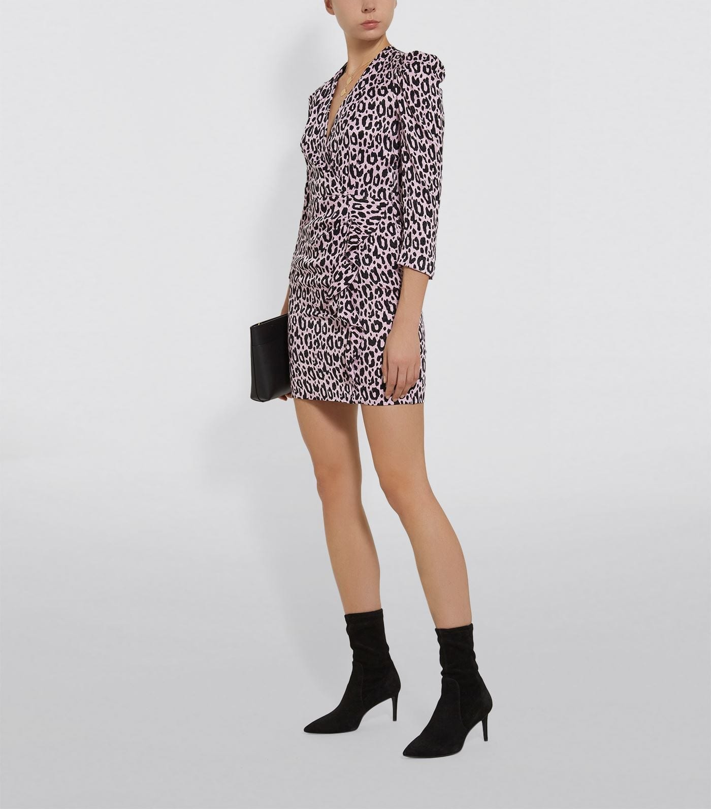 MAJE Leopard Print Dress
