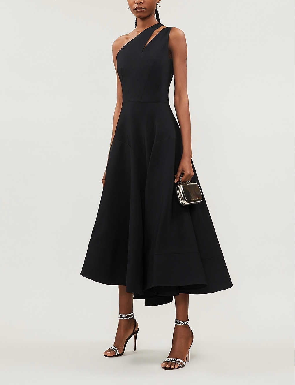 MATICEVSKI Meteor Cut-out Stretch-crepe Gown