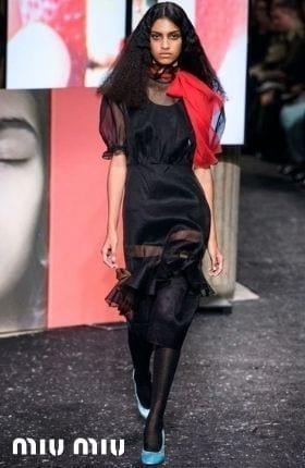 Miu Miu Dresses...Alternative Fashion Girls Will Adore These New Arrivals