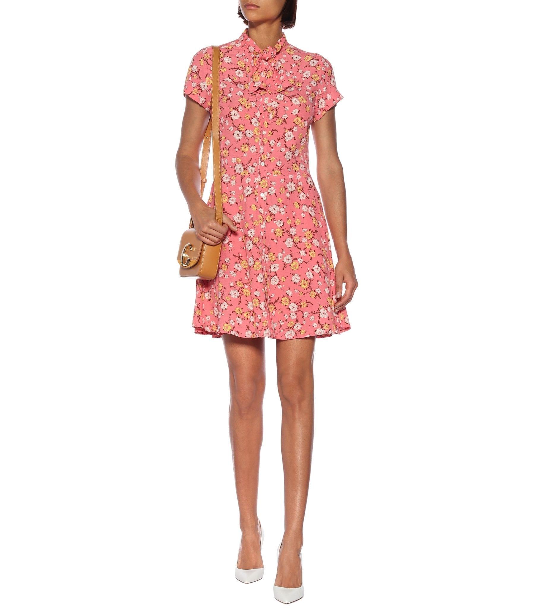POLO RALPH LAUREN Floral Mini Dress