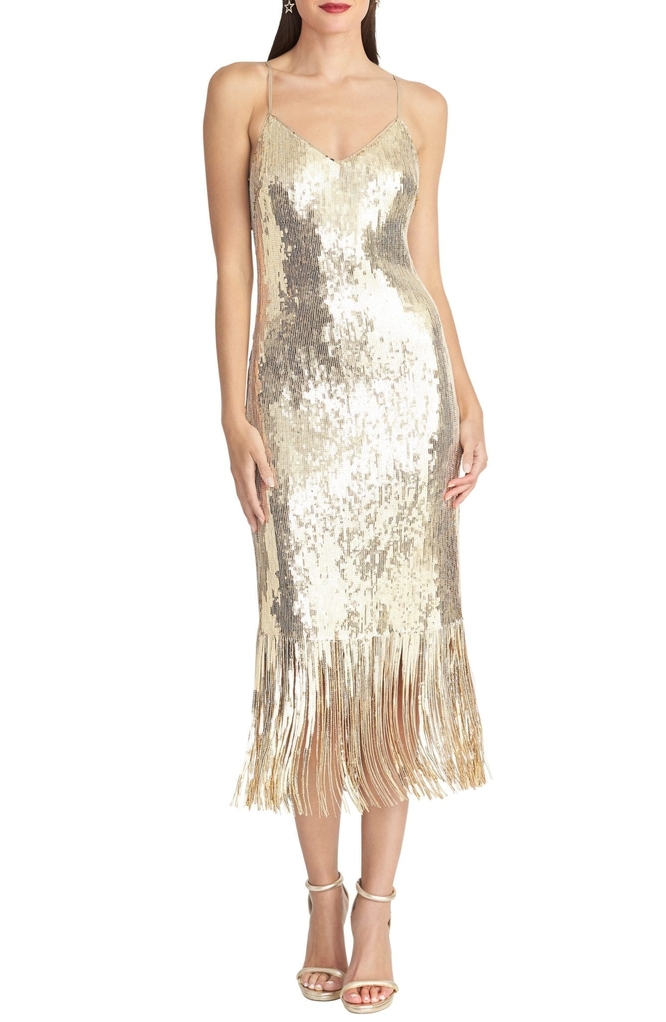 RACHEL RACHEL ROY Sequin Slip Dress