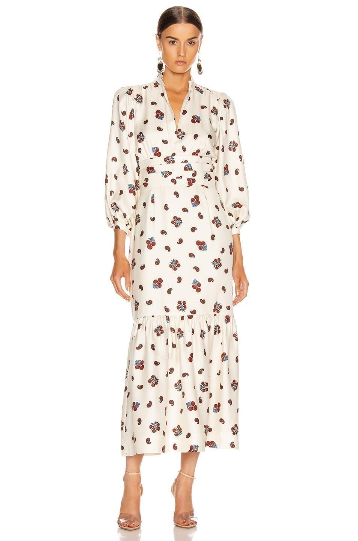 REBECCA DE RAVENEL Peasant Dress