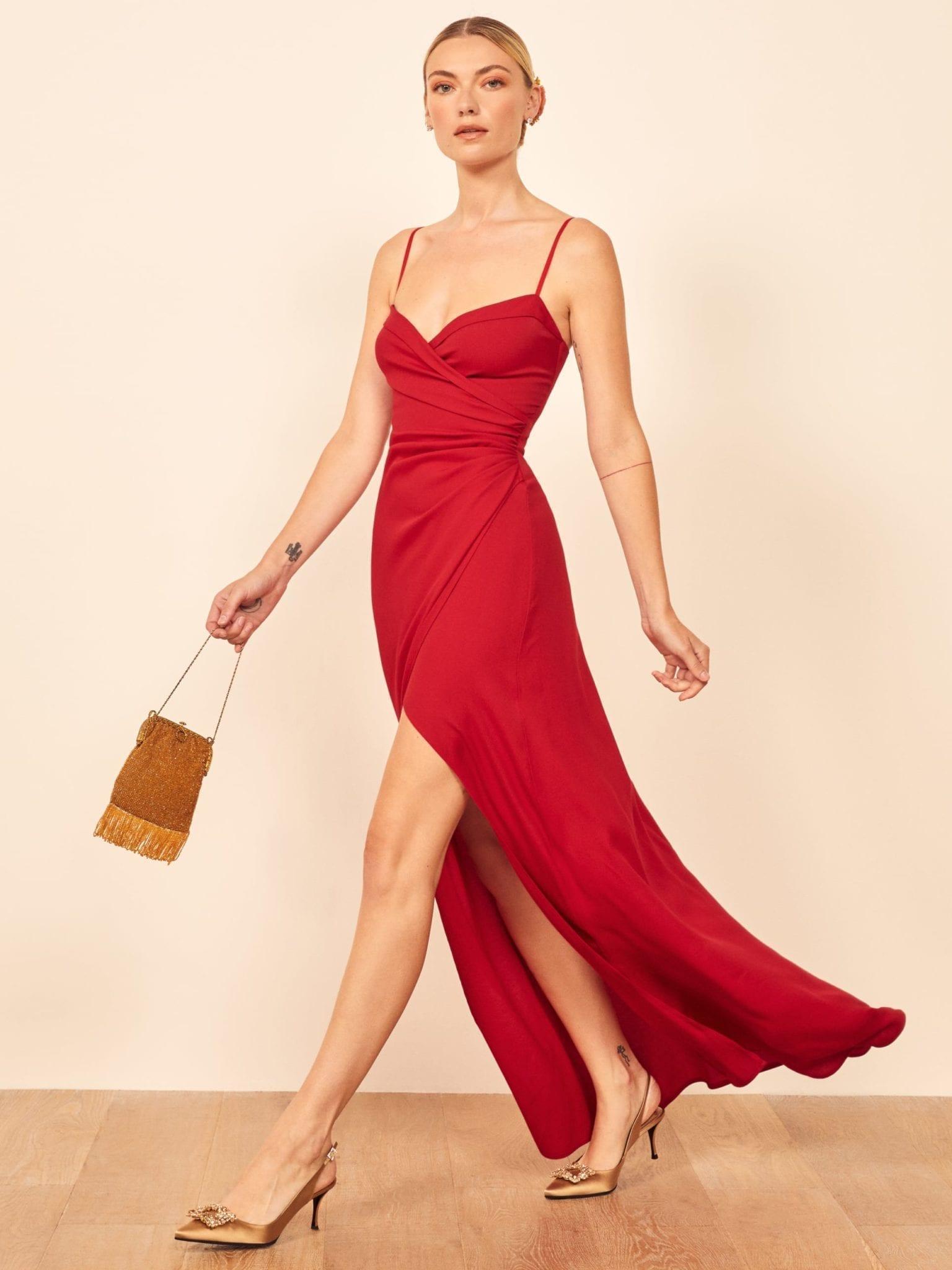 REFORMATION Loire Dress