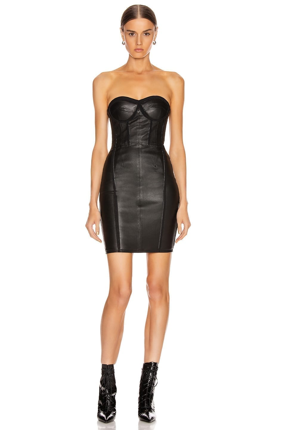 RTA Gwenyth Leather Dress