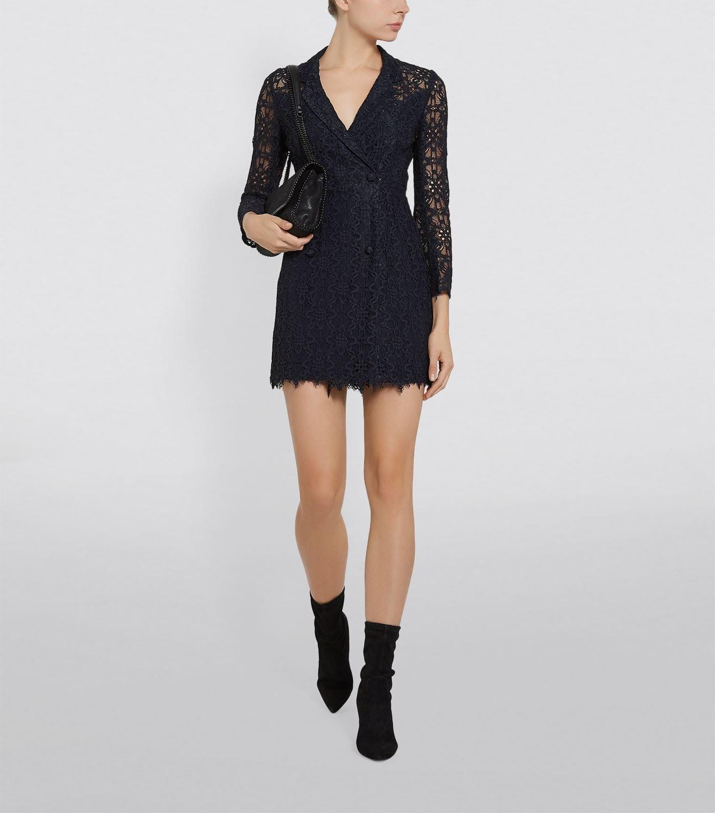 SANDRO Lace Blazer Dress