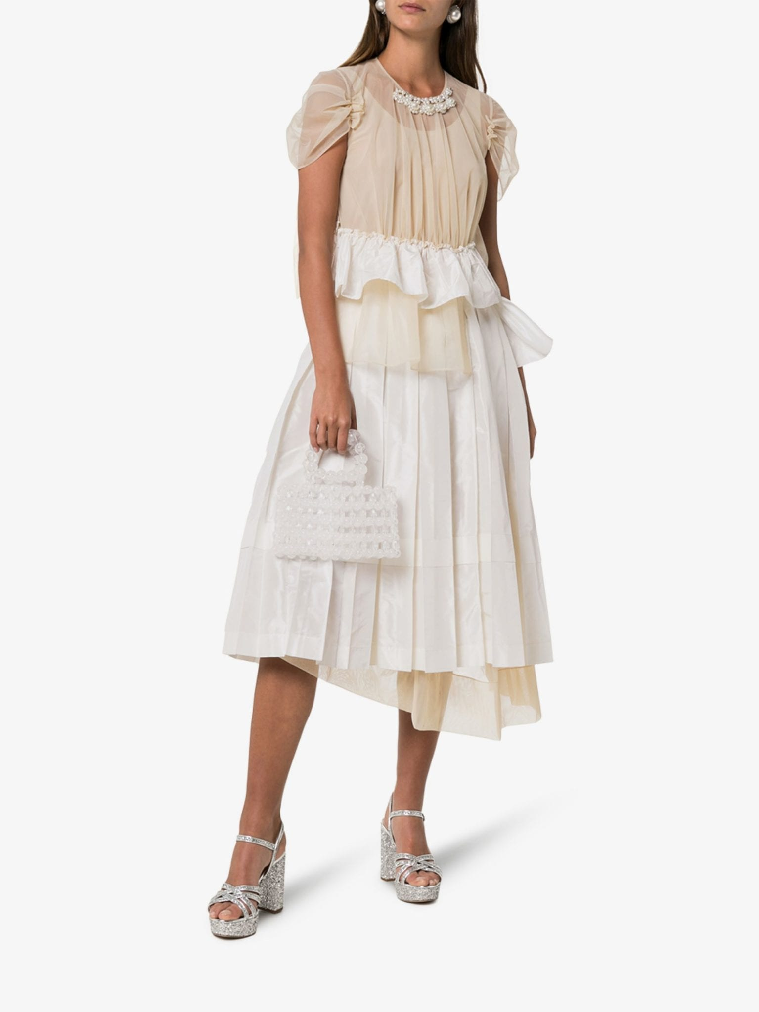 SIMONE ROCHA Chloe Deconstructed Midi Dress