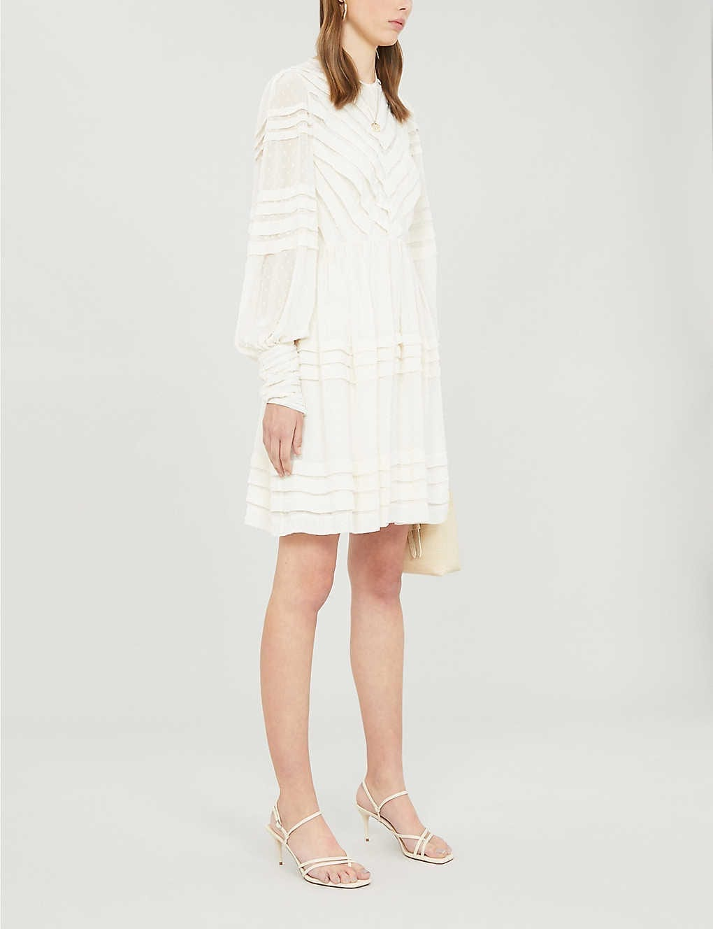 ZIMMERMANN Sabotage Crepe Mini Dress